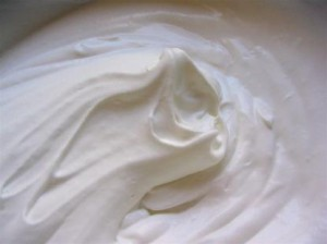 Image de crème Chantilly