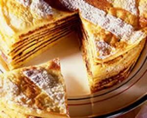 Photo de gâteau de crèpes