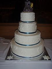 wedding cake photo