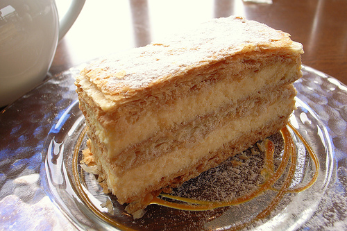 mille-feuille photo